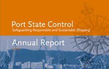 "2017 Paris MoU Annual Report ""Safeguarding responsible and sustainable shipping"""