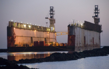 Guidance on ships which call only for dry-docking