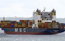 MSC MARIA LAURA Caught in the Net