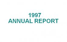 1997 Annual Report